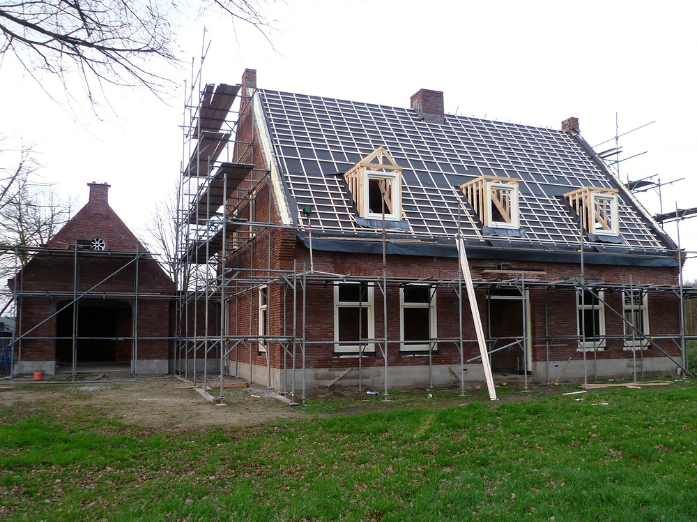 Nieuwbouw woonhuis met garage 01 - Wanroij