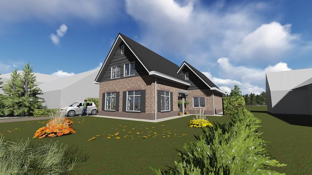 Nieuwbouw woonhuis met garage 03 - Wanroij
